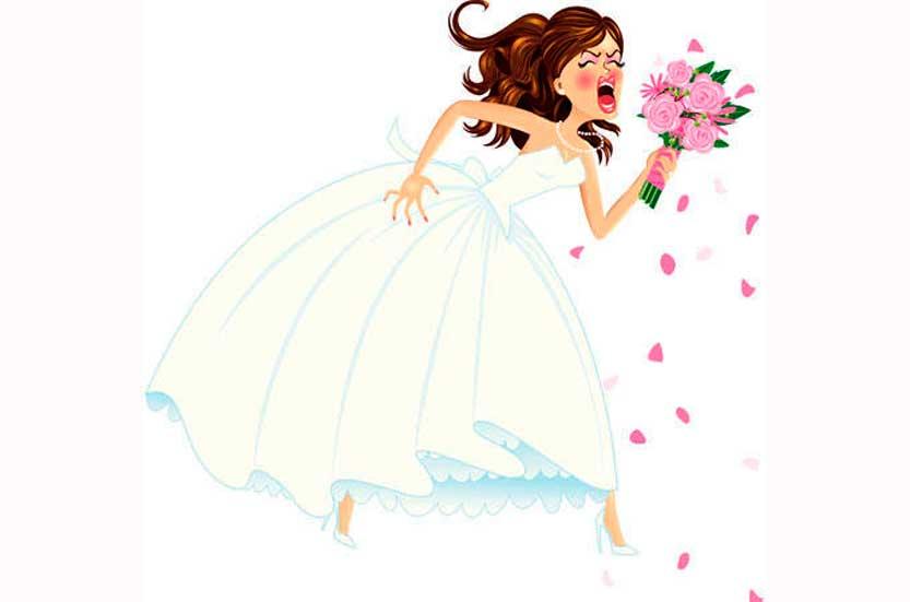 ansia-da-matrimonio sposa nevrotica