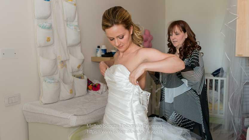 Preparativi della sposa e fotoreportage di matrimonio