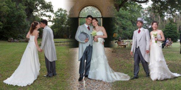 Pagina del fotolibri matrimonio di Ilaria e Nicola