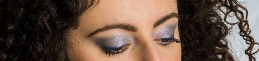 Occhi Make up Classic Blue