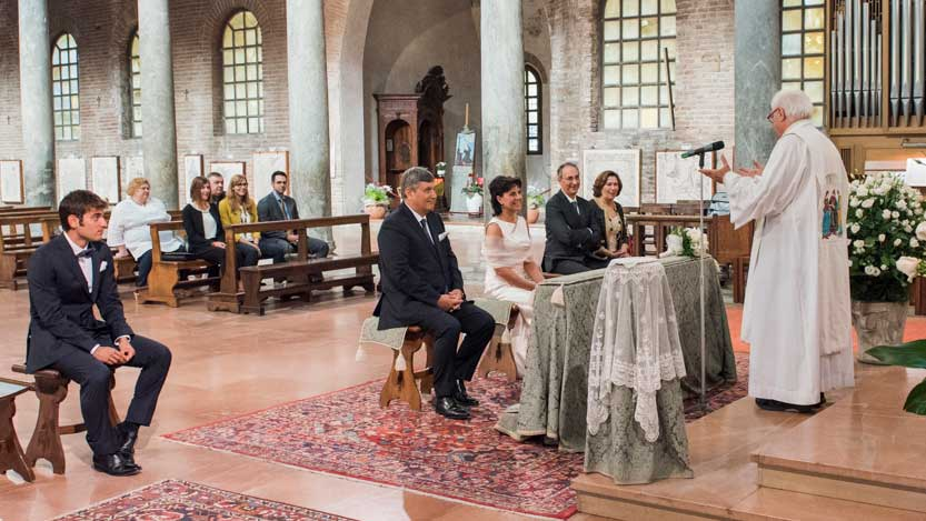 Ravenna matrimonio in San Giovanni Evangelista