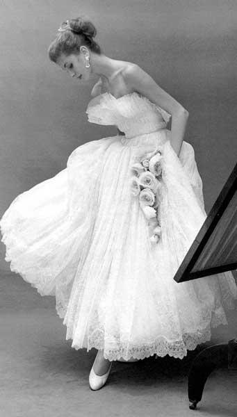 Abito da sposa anni 50 Christian Dior