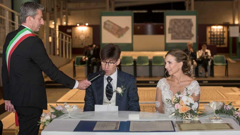 Museo Tamo Ravenna promessa di matrimonio dello sposo