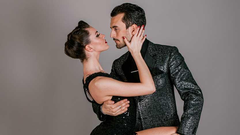 Chiara Benata e Andrea Bighi di Tango Felix